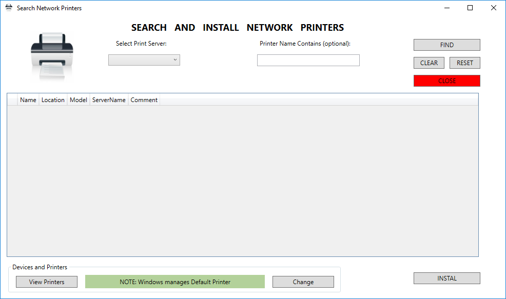 Search and Install Network Printers with PowerShell | Alex
